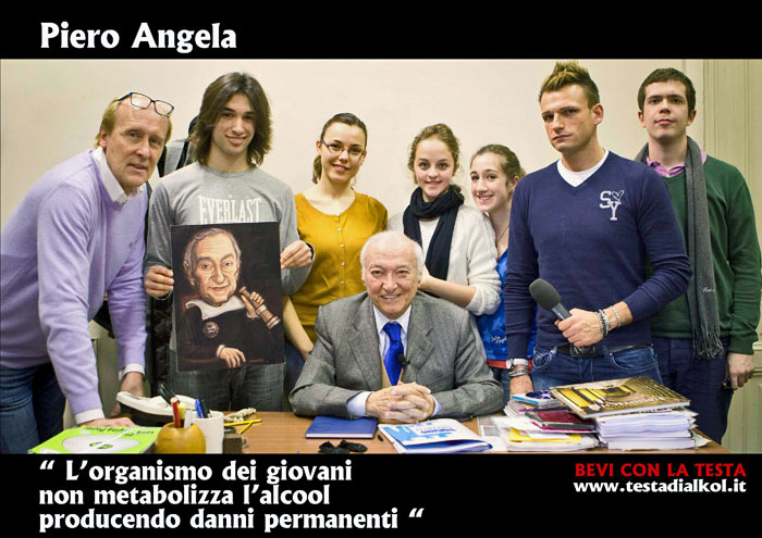 Piero Angela intervista
